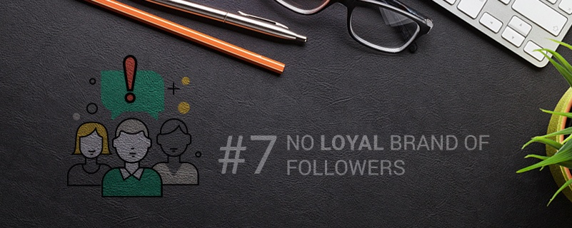 social media loyal brand of followers