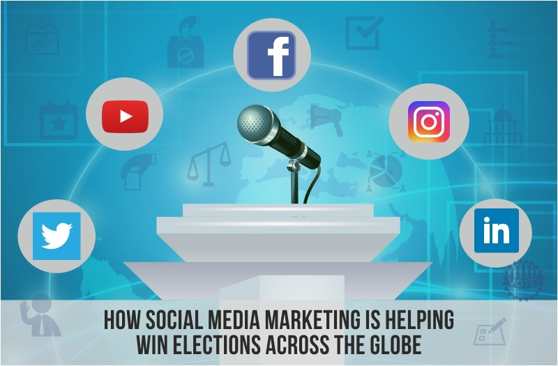 social media marketing helps elections